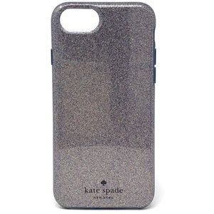 Kate Spade Multi Glitter Case iPhone 7 6 & 6s EUC